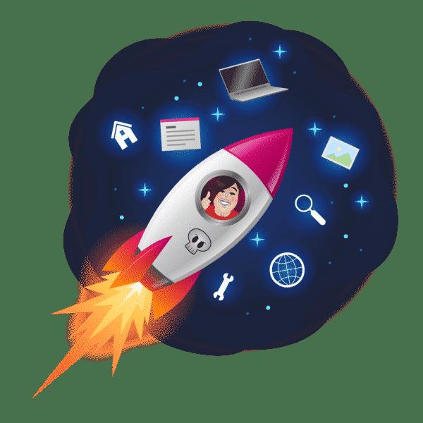 Opleiding Technisch VA - Manuela in raket