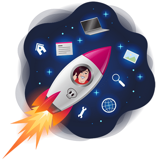 Opleiding Virtual Assistant Manuela van Prooijen in raket